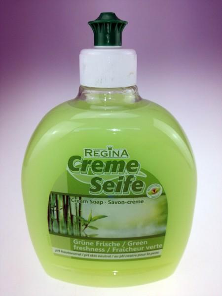 REGINA Cremeseife flüssig Grüne Frische 500 ml Push Pull