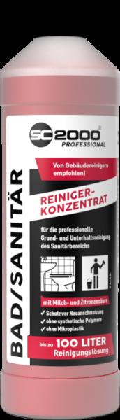 SC 2000 Professional Bad- & Sanitärreiniger 1-L-Flasche